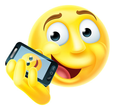 Mobile Phone Emoji Emoticon