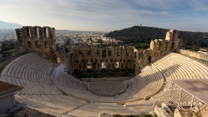 Acropolis in Athens, Greece A World Heritage Site