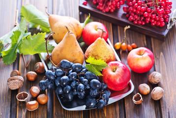 autumn fruits Fototapete