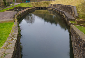 Neath Canal basin, Resolven.