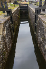 Canal lock, Neath  Canal.