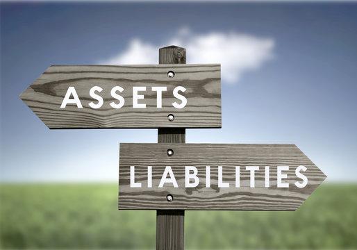 Assets Vs Liabilities Net Worth Financial Value