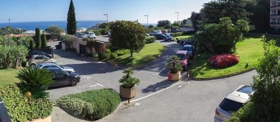 Luxury Parking Lot