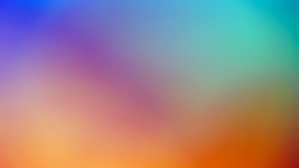 Abstract colorful blurred background for design