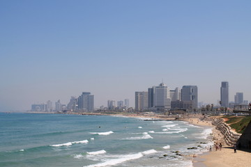 beach of Tel-Aviv,Israel