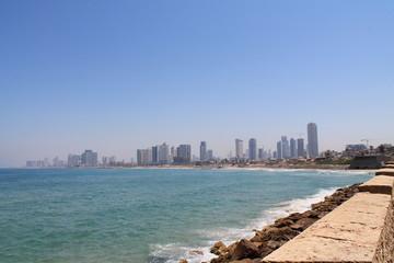 embankment of Tel Aviv,Israel