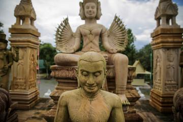 Cambodian's Smile Buddha