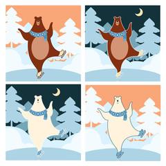 Bear on the ice