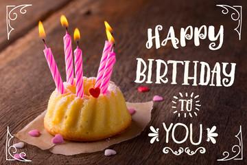 Happy Birthday - Süße Grußkarte zum Geburtstag