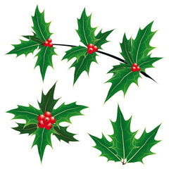 Christmas decoration symbols