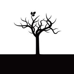 Green Tree.Vector Illustration.