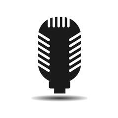 Studio microphone flat