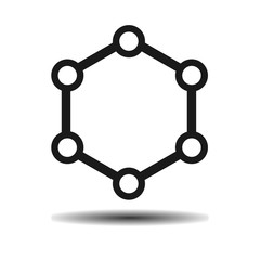 hexagonal molecule biology