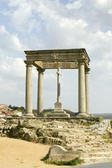Cuatros Postes (Four Pillars or Posts), Avila Spain, an old Castilian Spanish village
