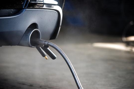 Diesel engine exhaust diagnostic measurement