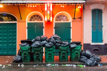 Cleaning Up Bourbon Street