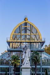 Les grandes serres du Parc de la Tête d'Or