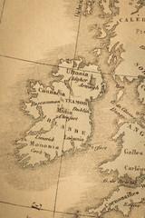 アンティークの世界地図 イギリス
