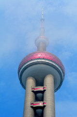 Oriental Pearl Tower in Shanghai, China