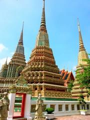 Stupa at Wat Pho, Bangkok, Thailand