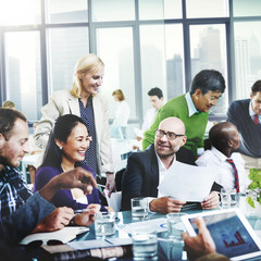 Business Team Cooperation Occupation Partnership Concept