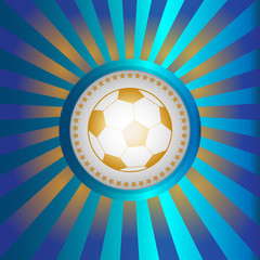 Soccer Championship Ball Banner