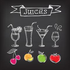 Juice poster,banner.