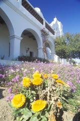 The San Luis Regional Mission Church de Francia in San Diego California