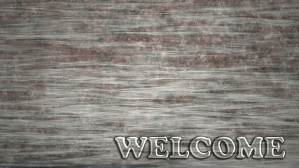 transparent welcome sign