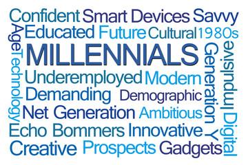 Millennials Word Cloud