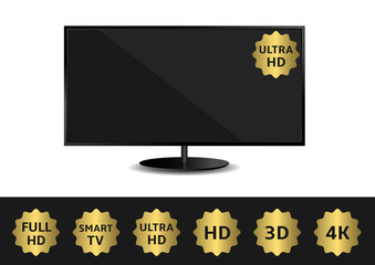 TV and ribbon set