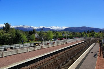 Scenic Train station