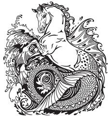 mythological hippocampus