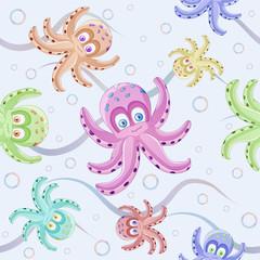 Cute octopus pattern