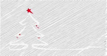 weihnachtsbaum - scribble