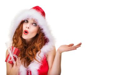 Frau Freisteller Weihnachten