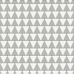 Geometric line monochrome abstract hipster seamless pattern with triangle. Wrapping paper. Scrapbook paper. Tiling. Vector illustration. Background. Graphic texture for your design, wallpaper