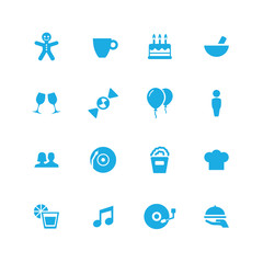 cafe icons universal set