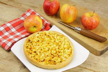 tarte aux pommes 02112015
