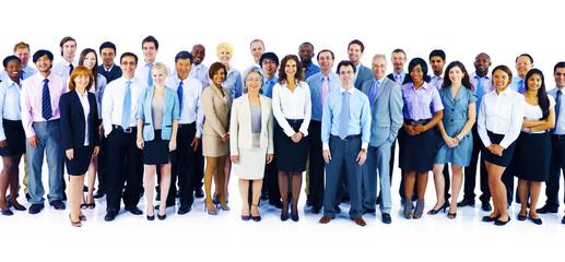 Fototapeta Cooperation Professional Partnership Teamwork Concept