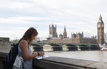 LONDON, UNITED KINGDOM - AUGUST 2, 2015: London is the most popular destination for tourists in the world