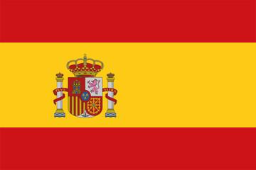 Flag of Spain Vector