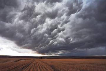 The enormous storm cloud