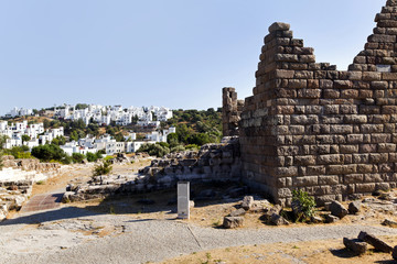 Myndos Gate of famous tourism city Bodrum