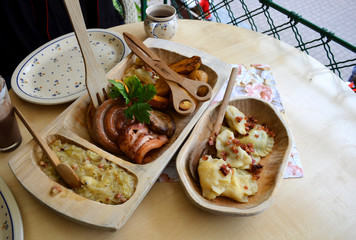 Local food in Zakopane