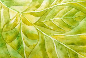 Abstract watercolor texture sheet