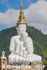 5 sitting Buddhas, Thailand
