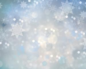 Holiday christmas snowflake background.