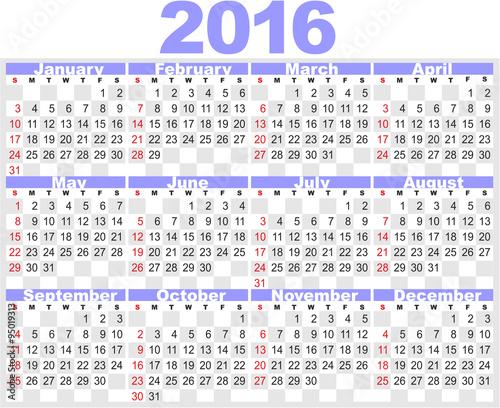 Календари 2016 шаблоны для фотошопа.