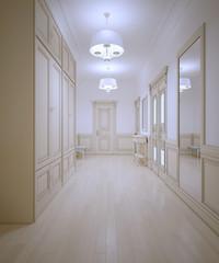 Hallway provence style